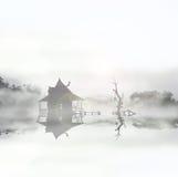Choza 2 del pantano Fotos de archivo libres de regalías