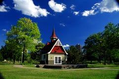 Choza del parque de Loring Fotografía de archivo libre de regalías