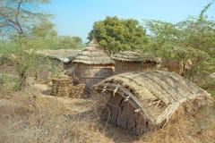 Choza en la India Imágenes de archivo libres de regalías