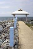 Choza en la playa Imagen de archivo