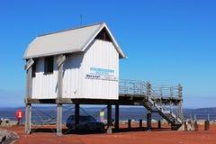 Choza Morecambe de la oficina del club náutico de Morecambe y de Heysham Fotos de archivo libres de regalías
