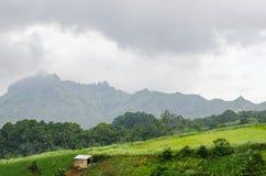 Choza tropical de la montaña Fotos de archivo