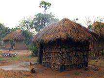 Chozas africanas Fotografía de archivo libre de regalías