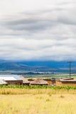 Chozas de Drakensburg Fotografía de archivo