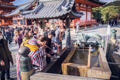 Chozuya royalty-vrije stock foto