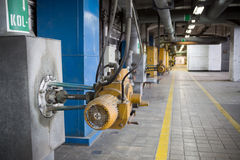 CHP Station In Lodz - Corridor Stock Images