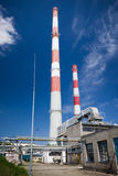CHP station in Lodz Stock Image