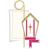 Chrétien de symbole Image stock