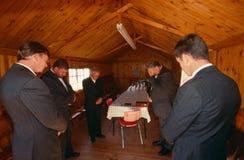 Chrétiens en Afrique du Sud. Photographie stock