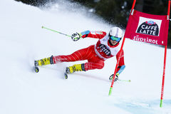 CHRAPEK Adam in Audi Fis Alpine Skiing World-Kop Stock Fotografie