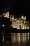 chrches illuminated Στοκ Φωτογραφία