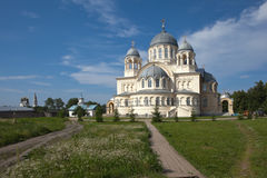 Chrestovozdvuzhenskiy Cathedral. Verkhoturye, Sverdlovsk region. Royalty Free Stock Photos