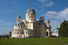Chrestovozdvuzhenskiy Cathedral. Verkhoturye, Sverdlovsk region. Stock Image