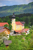 Chrich Saint Martin in Haunkenzell, Bavaria Stock Photography