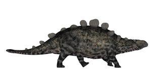 Chrichtonsaurus dinosaurie som går - 3D framför royaltyfri illustrationer