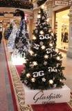 Chrictmas shop decoration Royalty Free Stock Photo