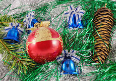Chridstmas decorations Royalty Free Stock Photography