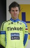 Chris Anker Sorensen Tinkoff Team - Saxo Στοκ φωτογραφία με δικαίωμα ελεύθερης χρήσης