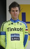 Chris Anker Sorensen Tinkoff Team - Saxo Royalty Free Stock Photo