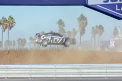 Chris Atkinson 55, drives a Subaru WRX STI car, during the Red B Stock Image