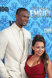 Chris Bosh and Adrienne Bosh Royalty Free Stock Photography