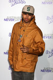 Chris Brown. LOS ANGELES - FEB 8: Chris Brown arrives at the 'Never Say Never' Premiere at Nokia Theater on February 8, 2011 in Los Angeles, CA royalty free stock image