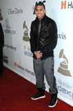 Chris Brown, Clive Davis Stock Photo