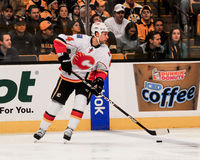 Chris Butler Calgary Flames #44 fotografie stock