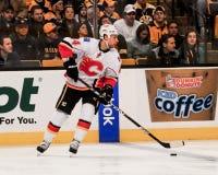 Chris Butler Calgary Flames #44. Stock Photos