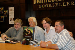 Chris Carter, Frank Spotnitz en Rob Boogschutter Royalty-vrije Stock Foto's