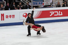 Chris and Cathy Reed, Japanese ice dancers Stock Photo