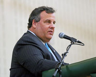 Chris Christie Images libres de droits