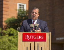 Chris Christie Royalty Free Stock Photos
