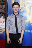 Chris Colfer Fotografia de Stock Royalty Free