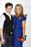 Chris Colfer,Dianna Agron Royalty Free Stock Image