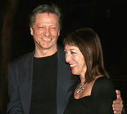 Chris Cooper and Marianne Leone Cooper. Actor Chris Cooper and wife Marianne Leone Cooper arrive at the Vanity Fair party for the 6th Annual Tribeca Film Royalty Free Stock Images