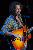 Chris Cornell Live Performance stock images