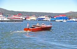 Chris Craft Speed Boat Royalty Free Stock Photo