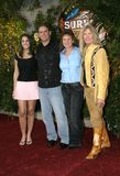 Chris Daugherty, Eliza Orlins, Scout Cloud Lee and Twila Tanner Stock Image
