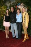 Chris Daugherty, Eliza Orlins, Scout Cloud Lee and Twila Tanner Stock Images