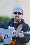 Chris Davisson van de Band van Broers Davisson Stock Afbeelding