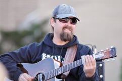 Chris Davisson van de Band van Broers Davisson Stock Fotografie