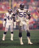 Chris Doleman Minnesota Vikings LB. Stock Image