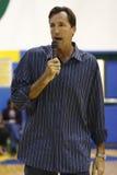 Chris Dudley che dà un discorso fotografie stock libere da diritti