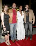 Chris Evans, Dane Cook, Jessica Biel y Joy Bryant Fotos de archivo