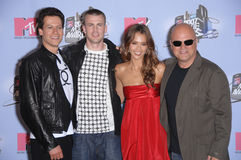Chris Evans, Ioan Gruffudd, Jessica Alba, Michael Chiklis Stock Photo