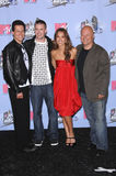 Chris Evans, Ioan Gruffudd, Jessica Alba, Michael Chiklis Royalty Free Stock Photo