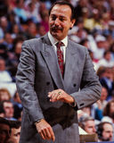 Chris Ford, premier entraîneur de Celtics de Boston Images libres de droits
