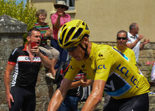 Chris Froome Immagine Stock