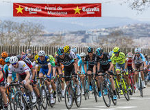 Chris Froome - il Volta Ciclista un Catalunya 2016 Immagini Stock